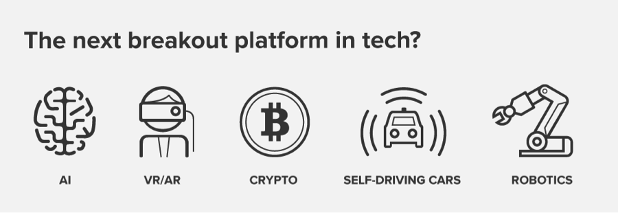 The next breakout platform in tech