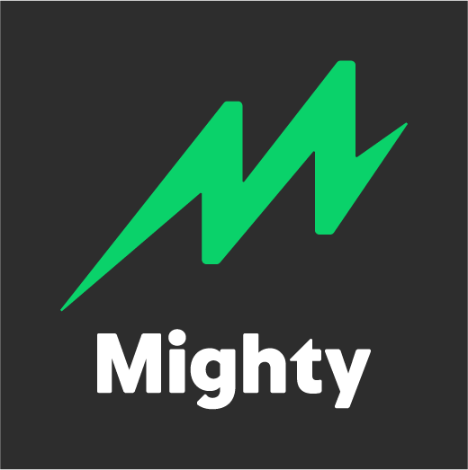 Mighty's logo