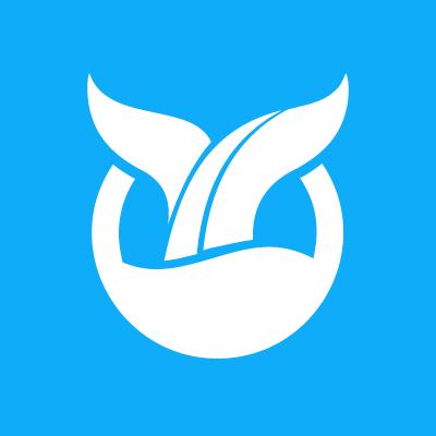 Whale Path's logo