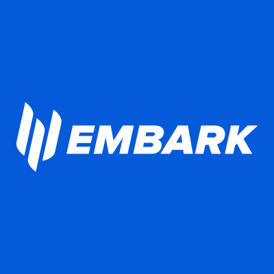 Embark Technology's logo