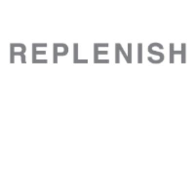 Replenish's logo