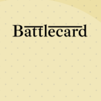 Battlecard's logo