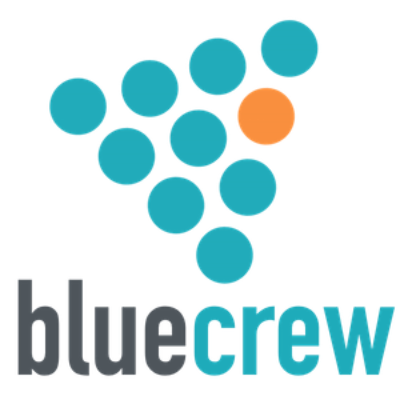BlueCrew's logo