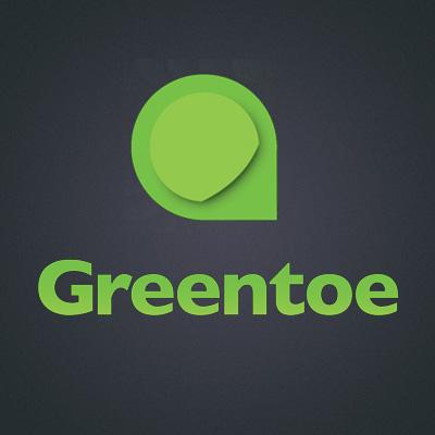 Greentoe's logo