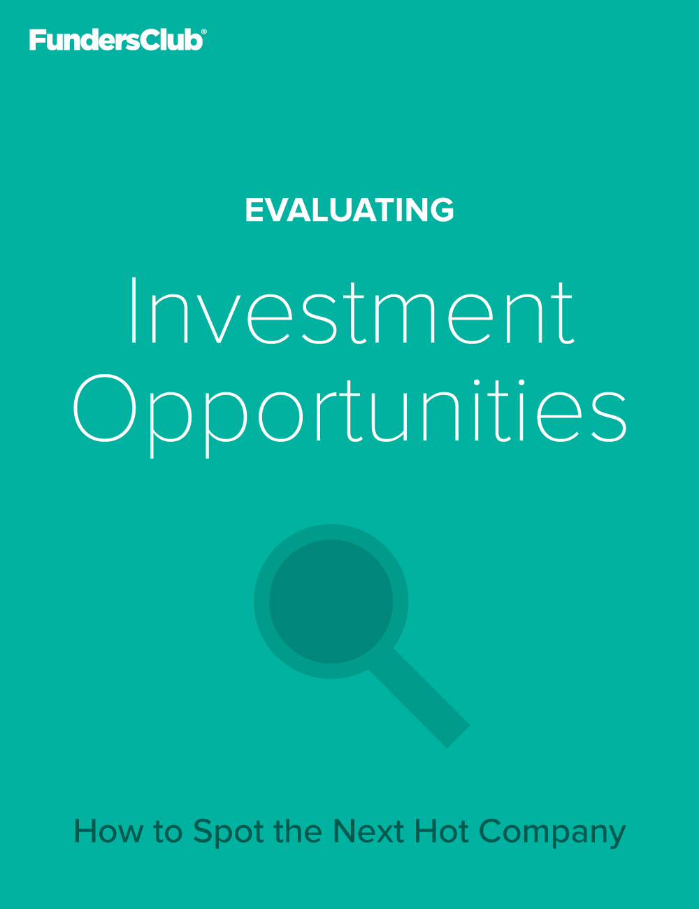 Evaluating Investment Opportunities