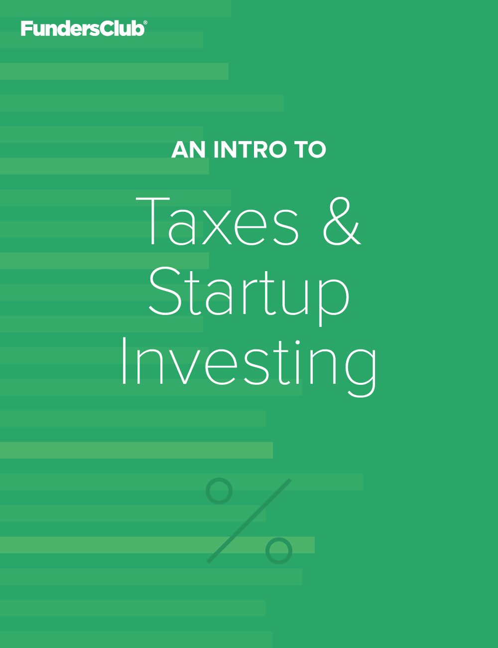 Taxes & Startup Investing